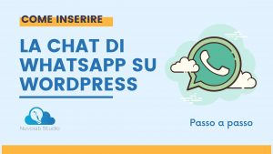 LA CHAT DI WHATSAPP SU WORDPRESS